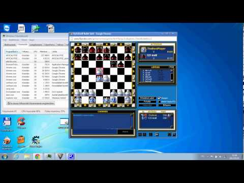 Flyordie Chess play with my Program