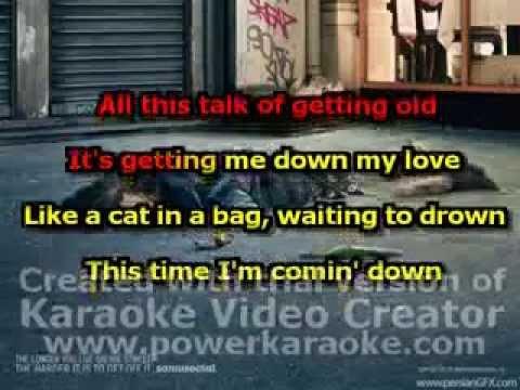 the VERVE - drugs don't work (karaoke version)