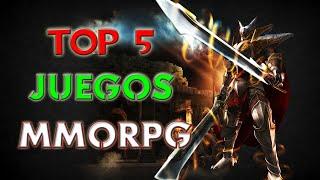 Top 5 Juegos MMORPG