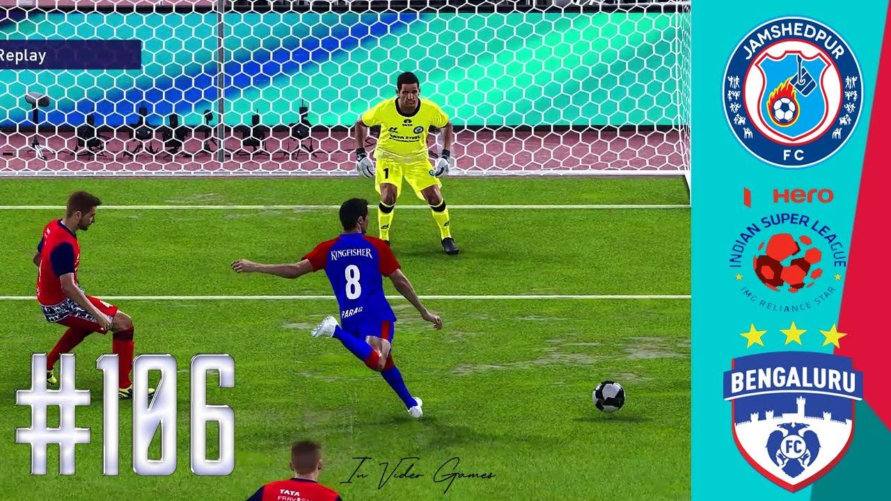 Jamshedpur vs Bengaluru - Match 106 Highlights Hero ISL 7 2020-21 eFootball PES 2021 Gameplay