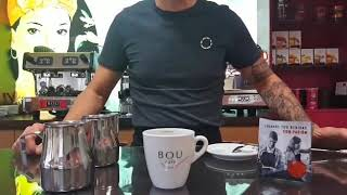 Preparación Chai latte matcha SIN AZÚCAR