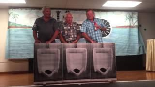 Fun Night 2016 ( 3 Men at the Urinal )