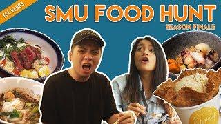 SEARCH FOR THE BEST UNI FOOD: SINGAPORE MANAGEMENT UNIVERSITY | TSL Vlogs