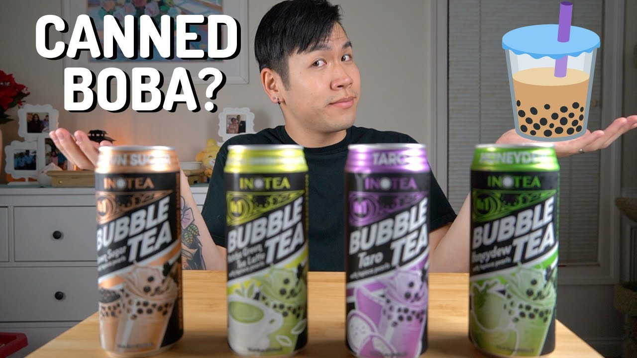 Download Is Canned Bubble Tea Worth It? INOTEA Boba Review/Taste Test