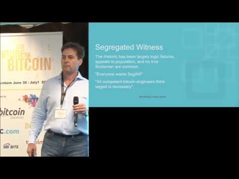 Craig Wright At The 2017 Future Of Bitcoin Conference