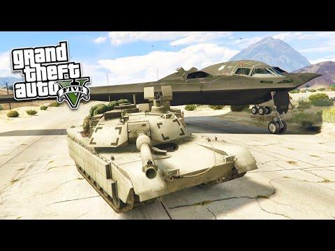 GTA 5 PC Mods - REAL LIFE ARMY MOD! GTA 5...