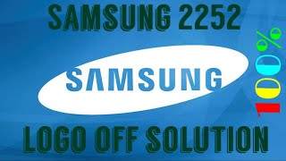 Samsung GT-E2252 power on solution