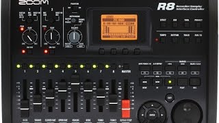 Zoom R8 - Create a Jam Track With the Zoom R8 multitrack recorder
