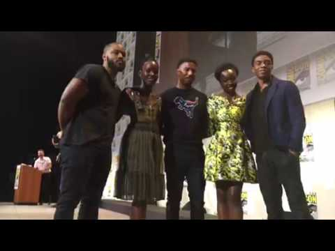 MARVEL's The Black Panther Cast At Comic Con #SDCC