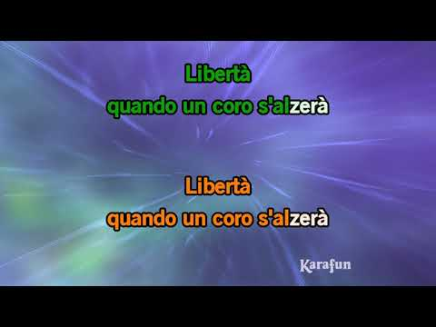 Karaoke Liberta - Al Bano & Romina Power *