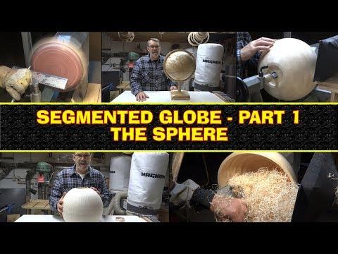 Segmented Wooden Globe - Part 1