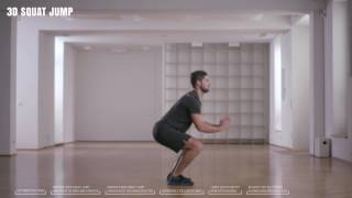 Online Fitness I How To I 3D Squat Jump