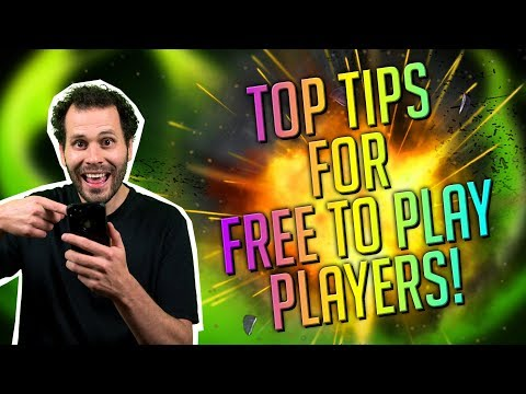 Top Tips For Free 2 Play Players!