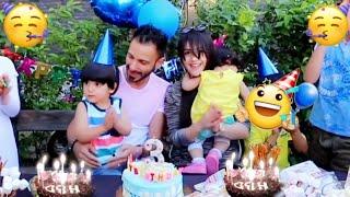 احتفلنا بيوم ميلاد ابننا | وصار شي غير متوقع !!| عصام ونور