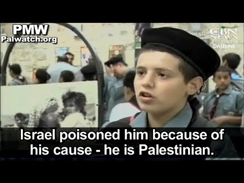 Report: Palestinian Anti-Semitism, Largely Unchecked, Among the World's Worst