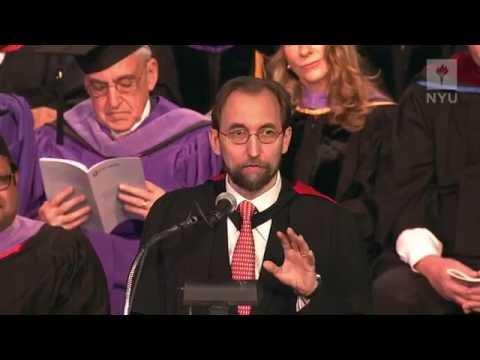 2014 NYU-SCPS Graduate Convocation - Prince Zeid Ra'ad Zeid Al-Hussein