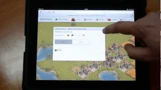 The Settlers Online on iPad iPhone (Die Siedler Online) iOS & Android