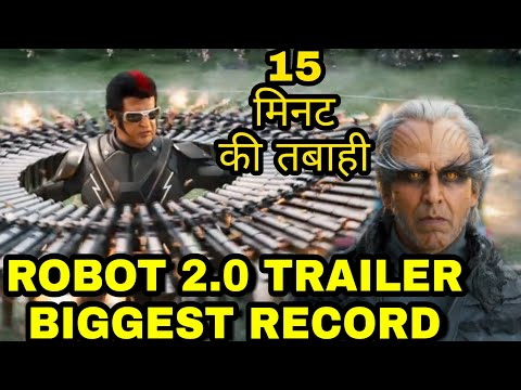 Akshay Kumar Robot 2.0 Trailer Makes Biggest Record In Just 15 Minutes