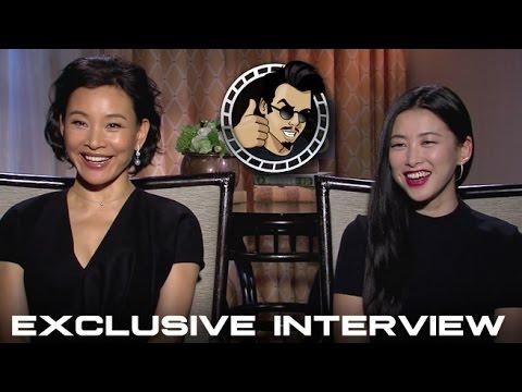 Zhu Zhu and Joan Chen   Netflix's Marco Polo HD 2014