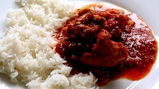 How to cook simple CHICKEN CURRY tasty recipe