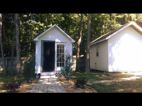 8X12 Home Office Shed – Affordable and DIY