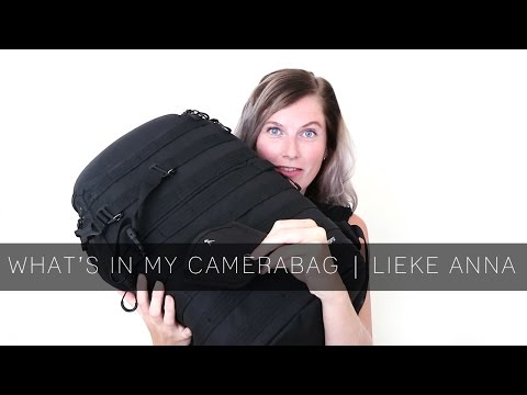 What's in my CAMERABAG | LIEKE ANNA