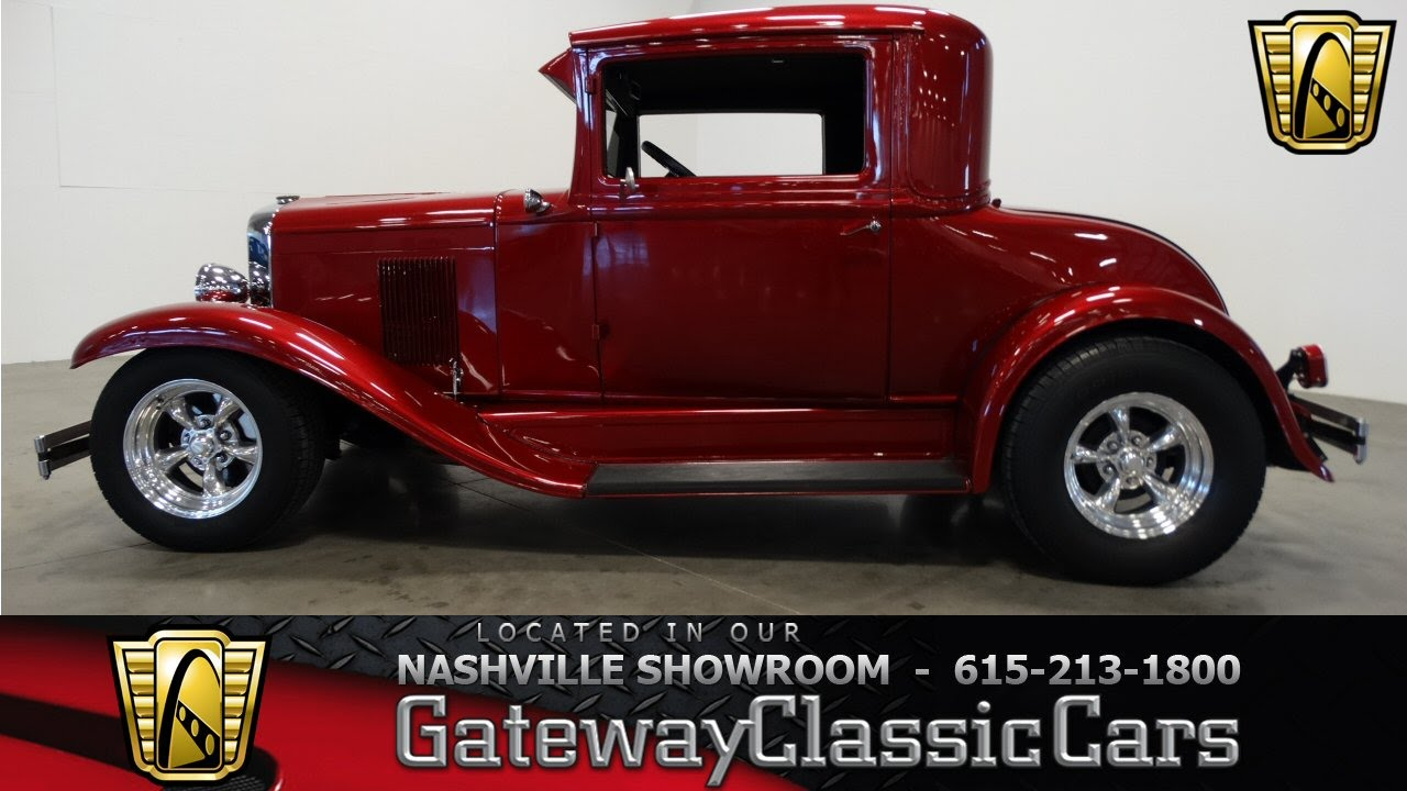 1930 Chevrolet Coupe - Gateway Classic Cars of Nashville #216 - YouTube