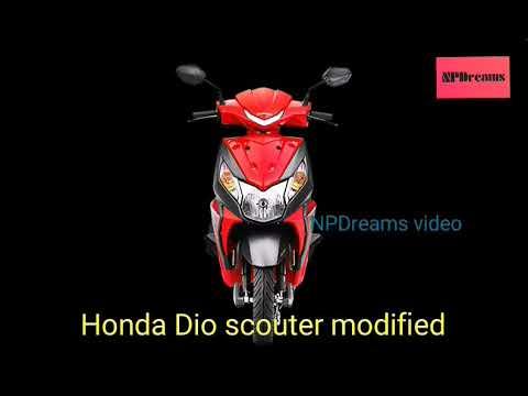 Honda Dio modified stickers - YouTube