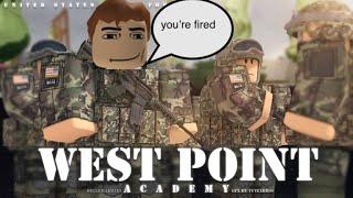 Roblox: Trolling à l'USAF West Point Academy comme Donald Trump