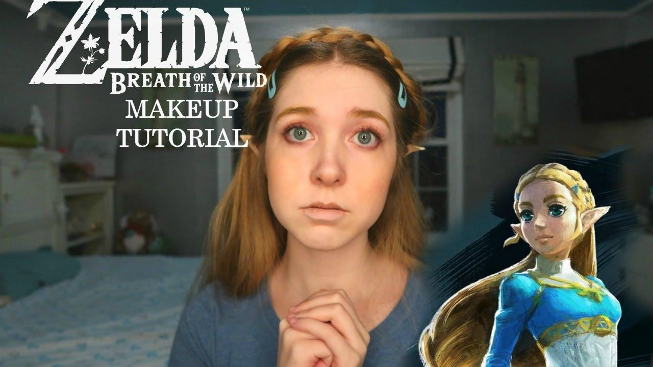 Breath Of The Wild Zelda Hair And Makeup Tutorial