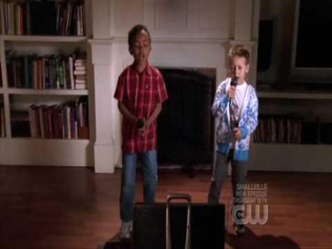 Nathan and Chase on Karaoke
