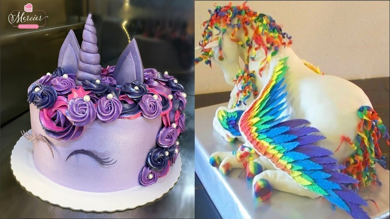 Top 20 Amazing Birthday Cake Decorating Ideas   Cake Style 2017   Oddly  Satisfying Cake Decorating Photo Gallery
