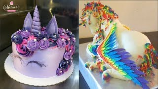 Top 20 Amazing Birthday Cake Decorating Ideas - Cake Style 2017 - Oddly Satisfying Cake Decorating