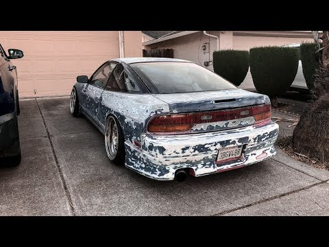 HOUSE OF KOLOR KANDY PAINT FOR THE 240SX!!