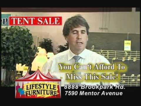 Superior Lifestyle Furniture   Funny Furniture Commercial   Tent Sale   YouTube