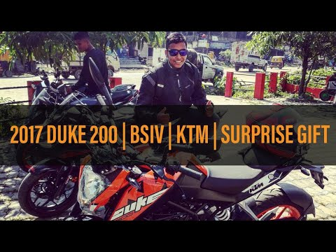 DUKE 200 BSIV | DELIVERY | SURPRISE GIFT | 2017