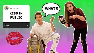INSTAGRAM Controls My EXTREME Dares In Public **Funny CHALLENGE** Ft. PIPER ROCKELLE