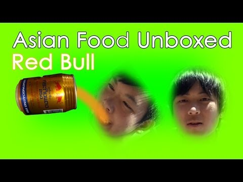 Asian Red Bull (Krating Daeng) - Food Review