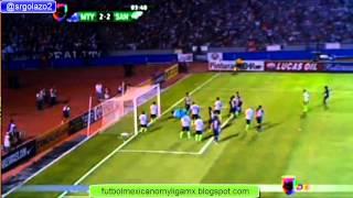 MONTERREY VS SANTOS 4-2 FINAL LIGA DE CAMPEONES DE LA CONCACAF 01  MAYO 2013