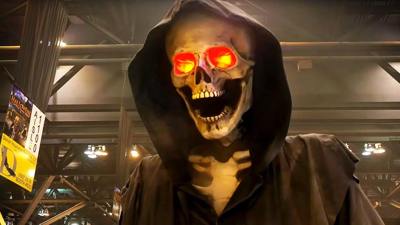 HALLOWEEN Shows USA! Shocking Scares, Props & Animatronics