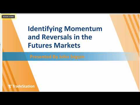 Identifying Momentum and Reversals in the Futures Markets