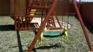 Adventure Playsets Pathfinder Swing Set
