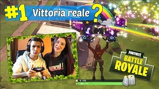 REAL VITTORY with MY GIRL?! | FORTNITE