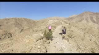 Hiking over Palm Desert, California