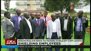 Kericho MCAs request Kenya Tea Packers to hold off staff layout