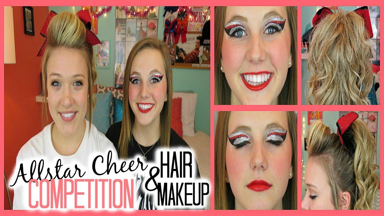 Pics of : Cheer Peion Hair And Makeup