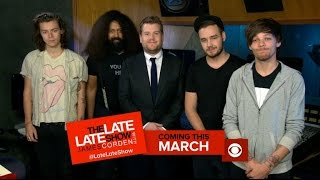 Late Late Show with James Corden - The Real One Direction
