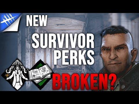Dead by Daylight Survivor - New Broken Survivor Perks