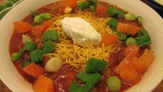 Mexican Chili Recipe ~ Beef & Bean Chili