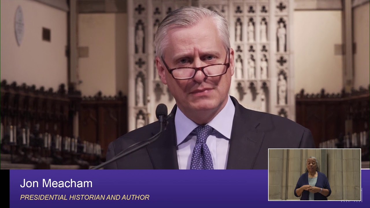 May 24, 2020: Sunday Sermon by Jon Meacham - YouTube